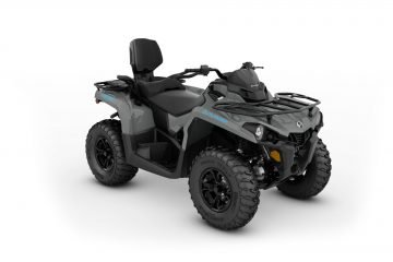 MY21-Can-Am-Outlander-MAX-DPS-450-Granite-Gray-Octane-Blue-34view-INT