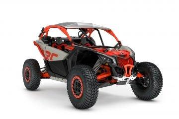 MY21-Can-Am-Maverick-X3-Xrc-TurboRR-ChalkGrey-MagmaRed-34Front-INTL