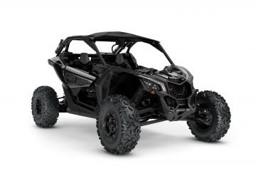 MY21-Can-Am-Maverick-X3-Xrs-TurboRR-TripleBlack-34Front-INTL