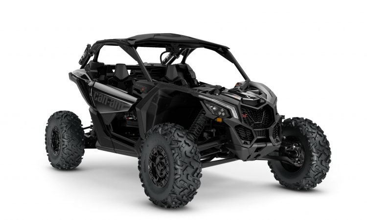 MY21-Can-Am-Maverick-X3-Xrs-TurboRR-TripleBlack-34Front-INTL