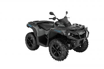 MY21-Can-Am-Outlander-DPS-1000R-Granite-Gray-Octane-Blue-34front-EU