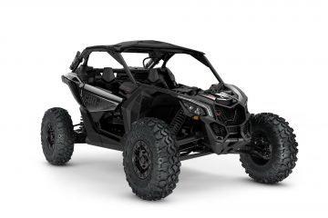 ORV-SSV-MY22-Maverick-XRS-TurboRR-Triple-Black-SKU0007TNK00-Studio-34FR-CE